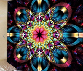 Fabric Wall Tapestry..